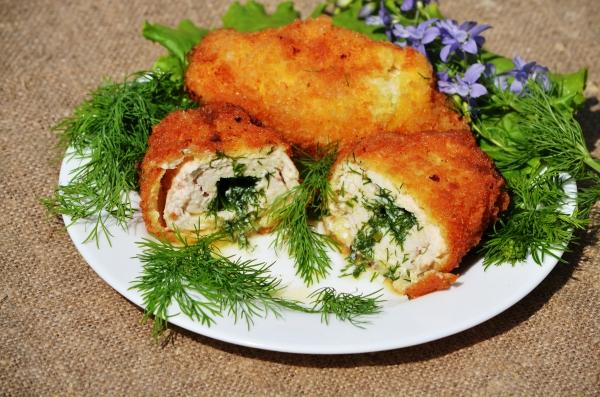 Киевские котлеты из куриного филе рецепт с пошагово