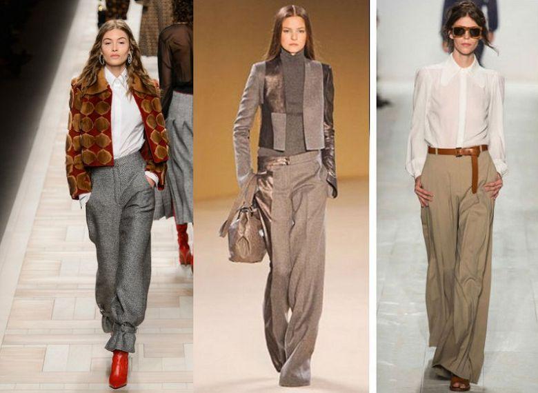 Модные фасоны брюки 2018