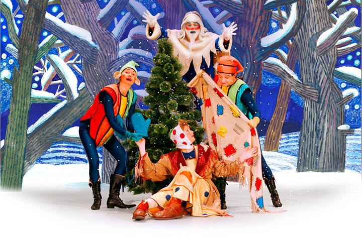Сценарии детских новогодних спектаклей для детей