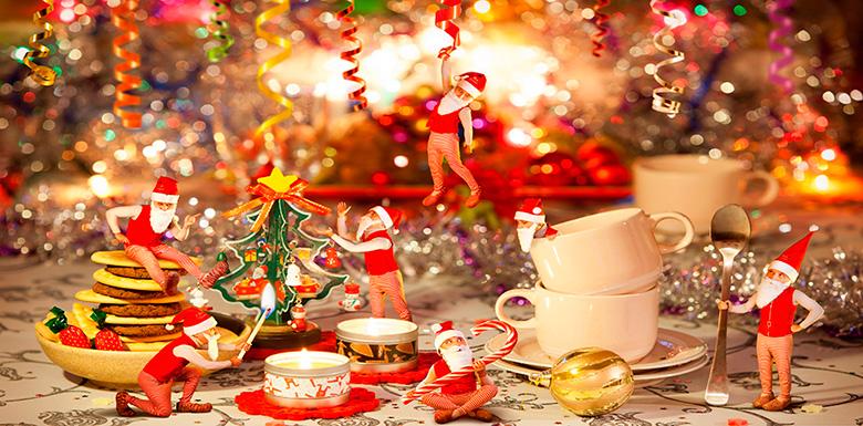 Как накрыть стол на Новый год 1