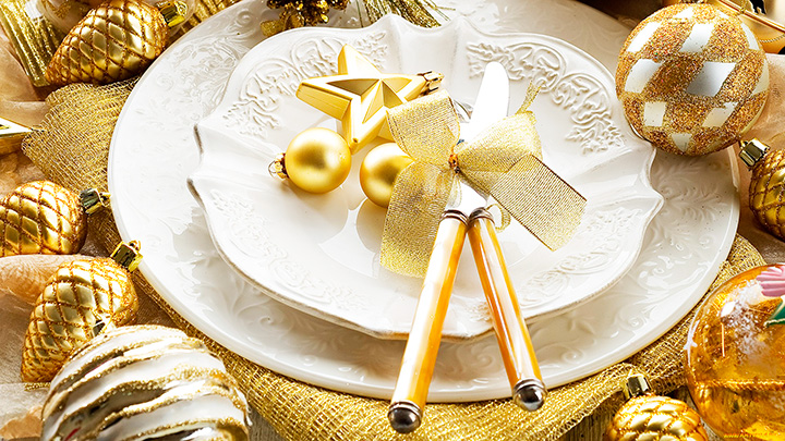 Как накрыть стол на Новый год 6