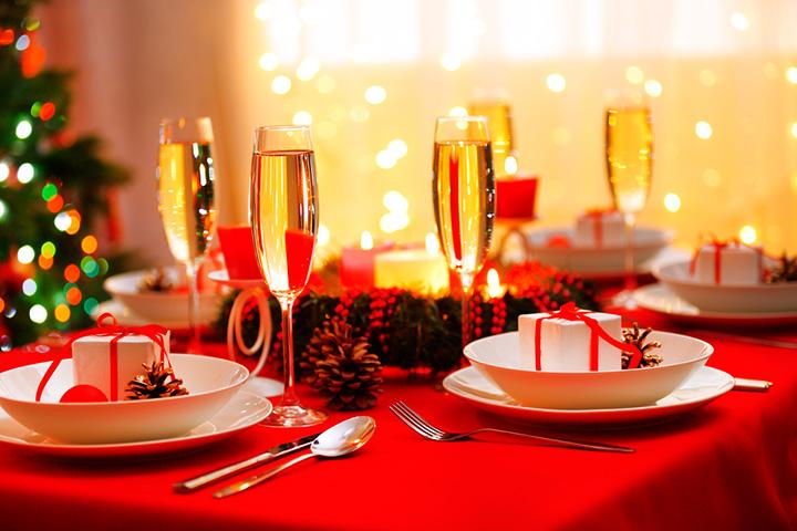 Как накрыть стол на Новый год 7