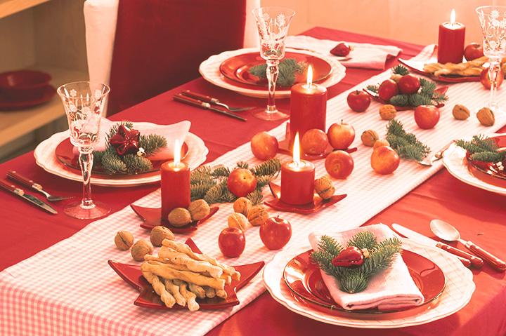 Как накрыть стол на Новый год 8