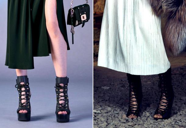 Модная обувь фото