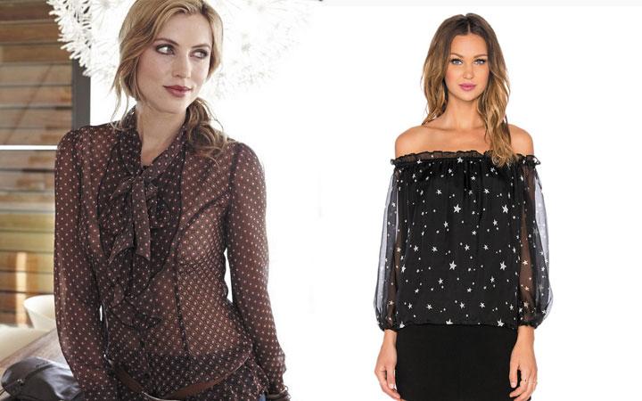 Модные блузки осень-зима 2017-2018 года 11