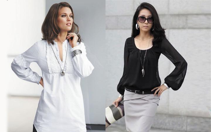Модные блузки осень-зима 2019-2020 года 17