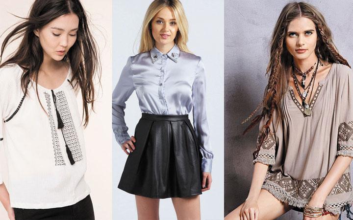 Модные блузки осень-зима 2017-2018 года 18