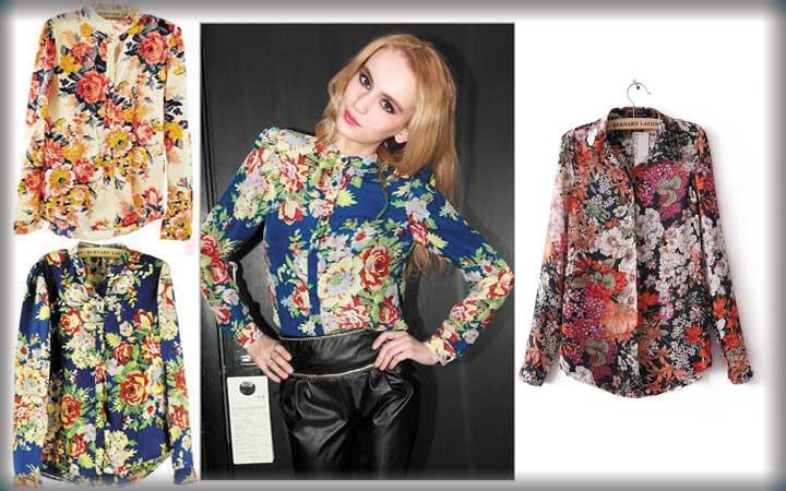 Модные блузки осень-зима 2017-2018 года 28