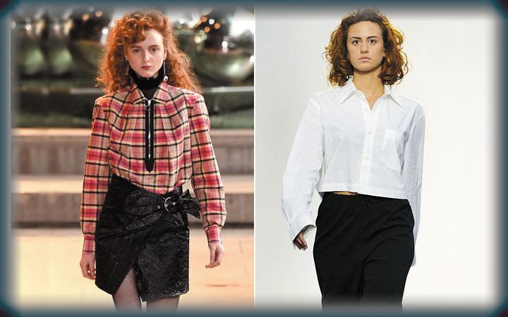 Модные блузки осень-зима 2019-2020 года 30