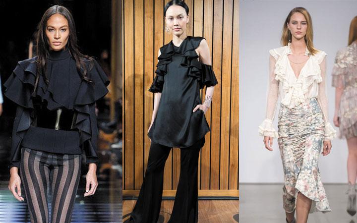Модные блузки осень-зима 2019-2020 года 35