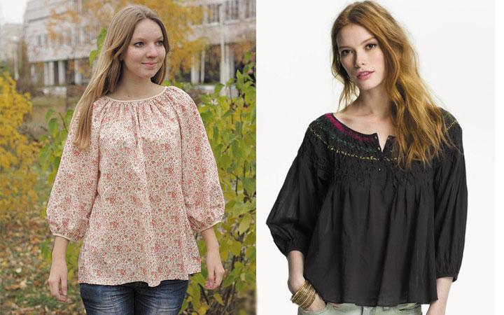 Модные блузки осень-зима 2019-2020 года 39