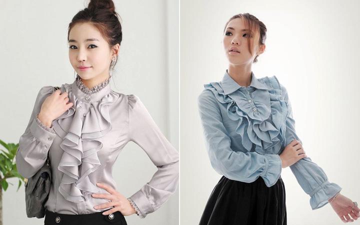 Модные блузки осень-зима 2019-2020 года 6
