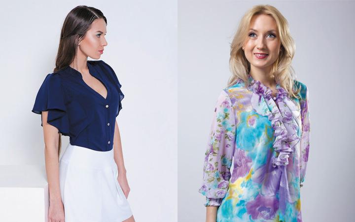 Модные блузки осень-зима 2017-2018 года 7
