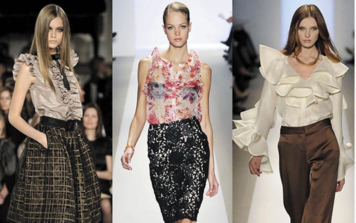 Модные блузки осень-зима 2019-2020 года 9