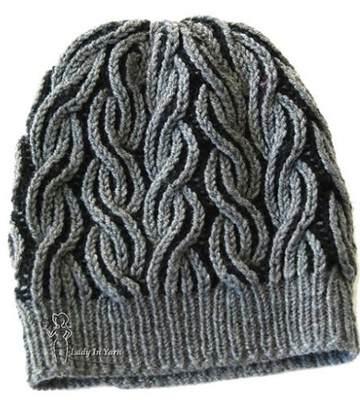 Модные вязанные шапки осень-зима 2019-2020 для женщин 11