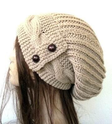 Модные вязанные шапки осень-зима 2017-2018 для женщин 17