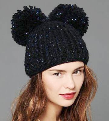Модные вязанные шапки осень-зима 2017-2018 для женщин 18
