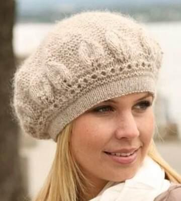 Модные вязанные шапки осень-зима 2019-2020 для женщин 22