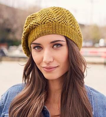Модные вязанные шапки осень-зима 2017-2018 для женщин 24