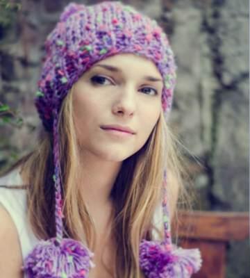 Модные вязанные шапки осень-зима 2019-2020 для женщин 26