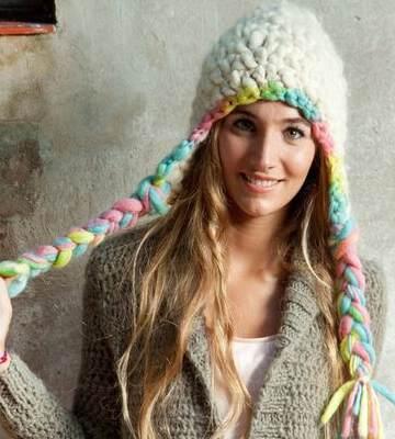 Модные вязанные шапки осень-зима 2019-2020 для женщин 27