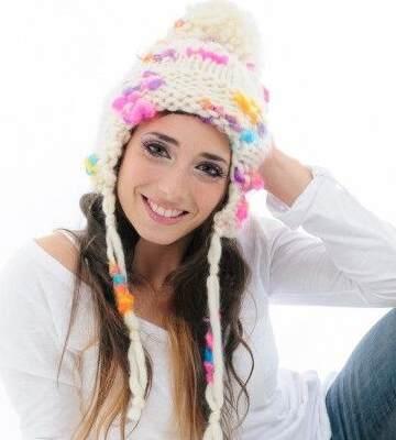 Модные вязанные шапки осень-зима 2019-2020 для женщин 28