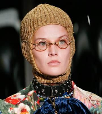 Модные вязанные шапки осень-зима 2019-2020 для женщин 40
