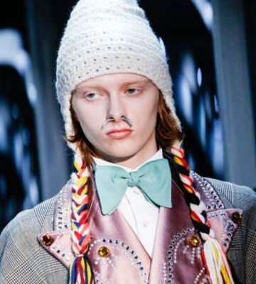 Модные вязанные шапки осень-зима 2019-2020 для женщин 41