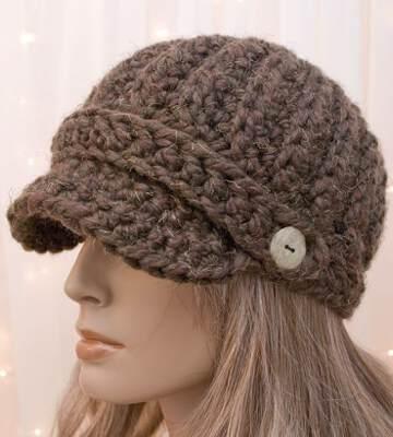 Модные вязанные шапки осень-зима 2019-2020 для женщин 43