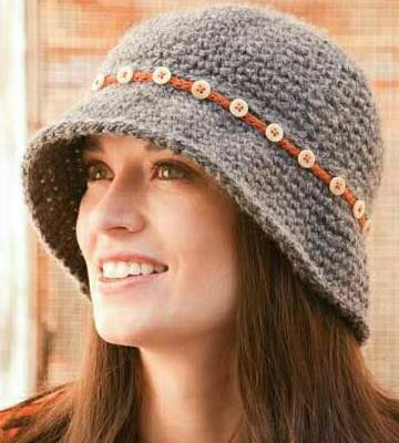 Модные вязанные шапки осень-зима 2019-2020 для женщин 44
