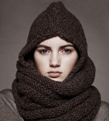 Модные вязанные шапки осень-зима 2019-2020 для женщин 46