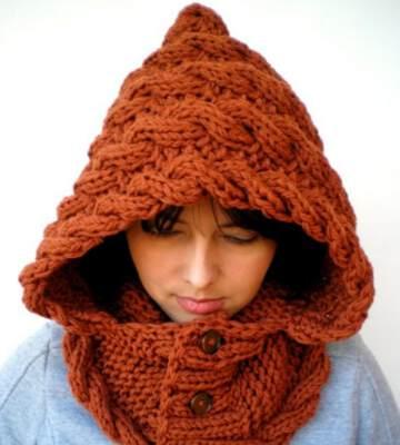 Модные вязанные шапки осень-зима 2019-2020 для женщин 47