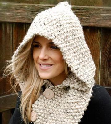Модные вязанные шапки осень-зима 2019-2020 для женщин 48