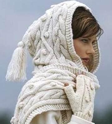 Модные вязанные шапки осень-зима 2019-2020 для женщин 49
