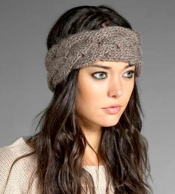 Модные вязанные шапки осень-зима 2019-2020 для женщин 5