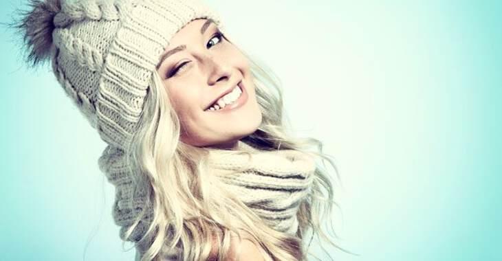 Модные вязанные шапки осень-зима 2019-2020 для женщин1