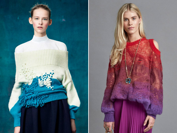 Модные свитера 2019 10