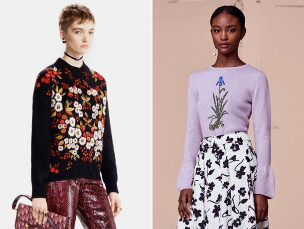 Модные свитера 2019 11