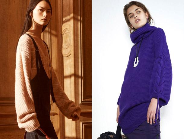 Модные свитера 2019 5