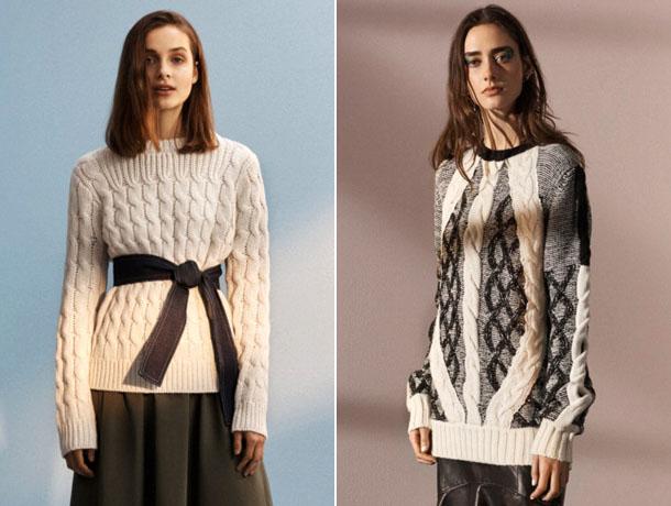 Модные свитера 2019 9