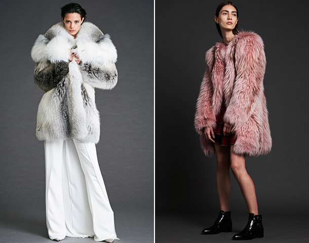 Модные женские шубы 2018