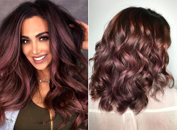 Модный цвет волос 2019 13