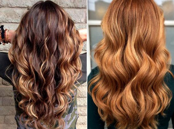 Модный цвет волос 2019 15