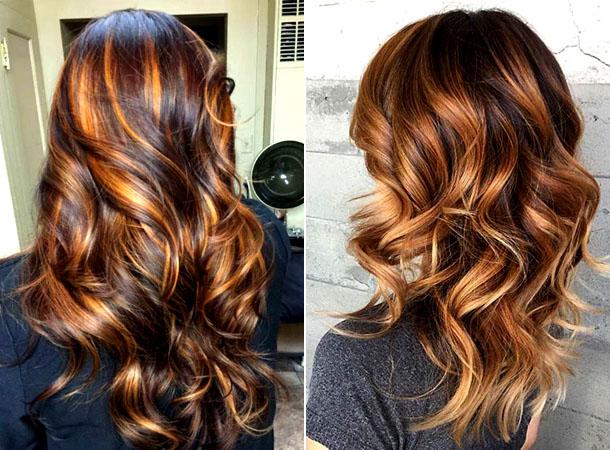 Модный цвет волос 2019 16