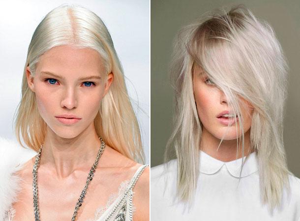 Модный цвет волос 2019 2