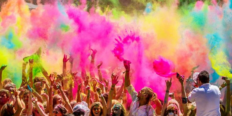 Фестиваль красок 1