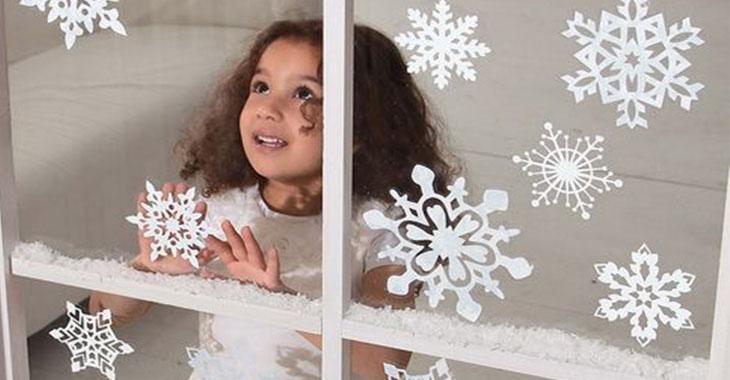 Photo of Как красиво украсить окна к Новому году