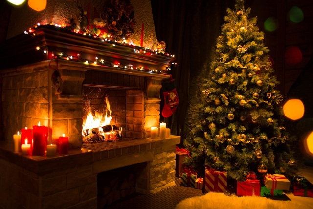 Уютная картинка с новым годом