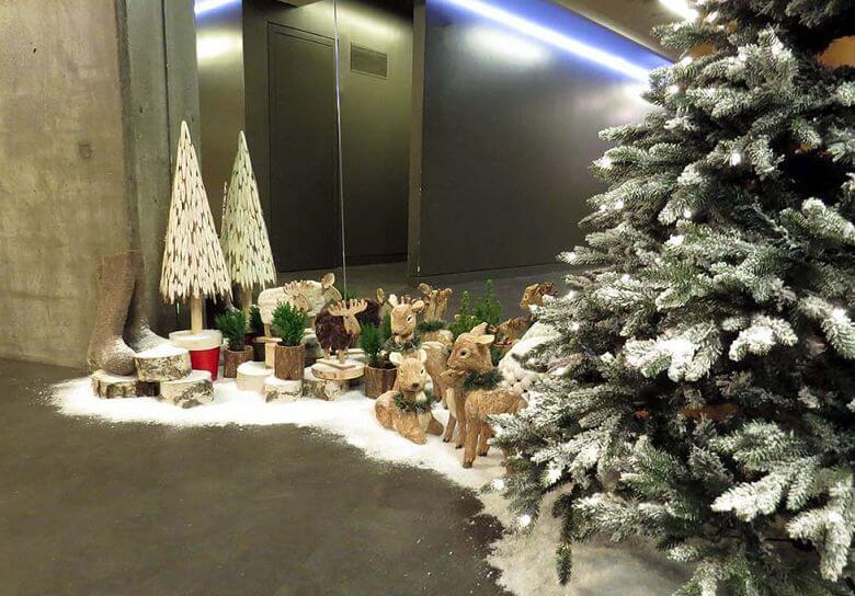 Идеи украшений рабочего кабинета к Новому году