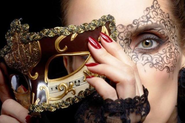 Новогодние маски для взрослых своими руками